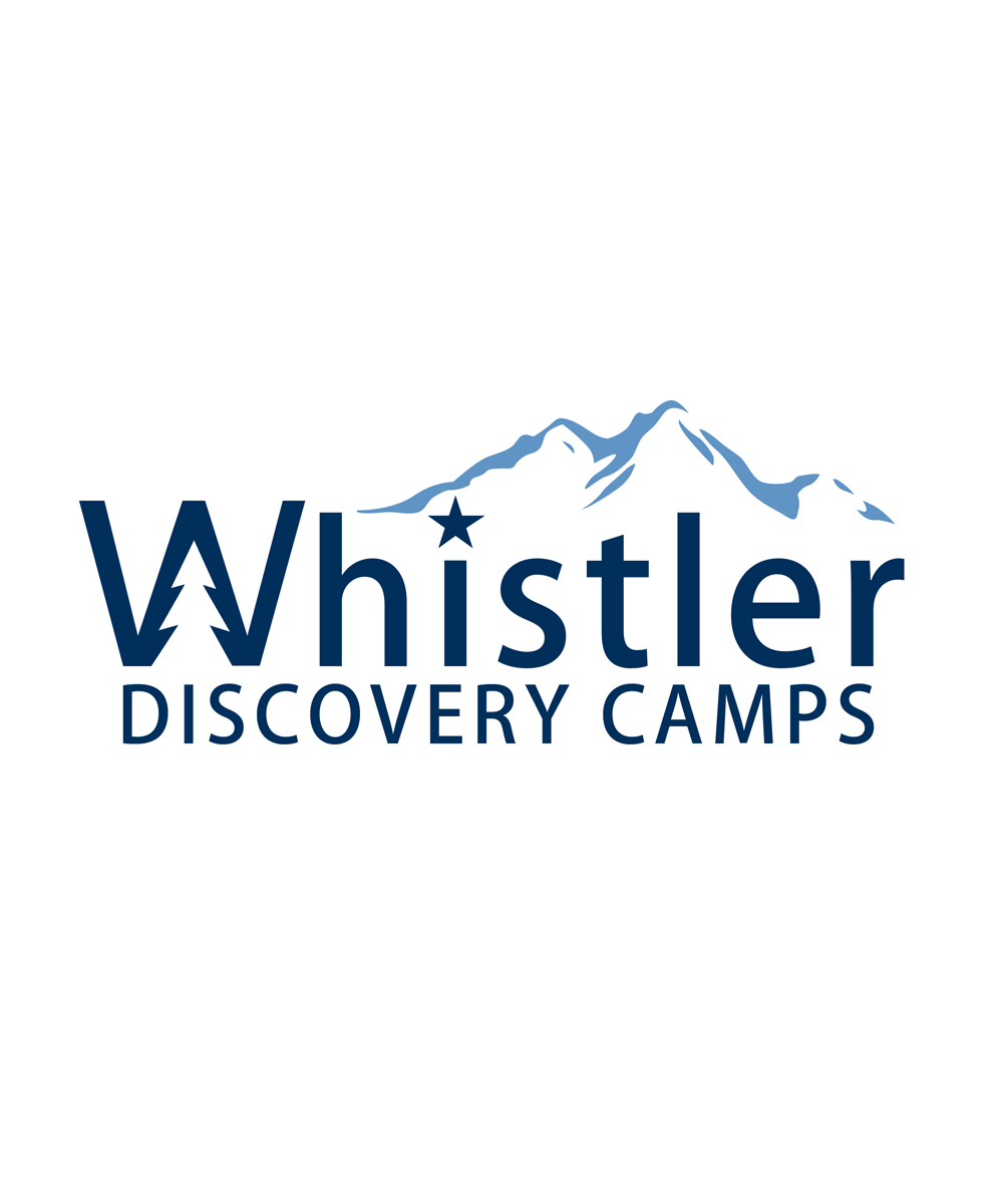 Logo Design by Private User - Entry No. 112 in the Logo Design Contest Captivating Logo Design for Whistler Discovery Camps.