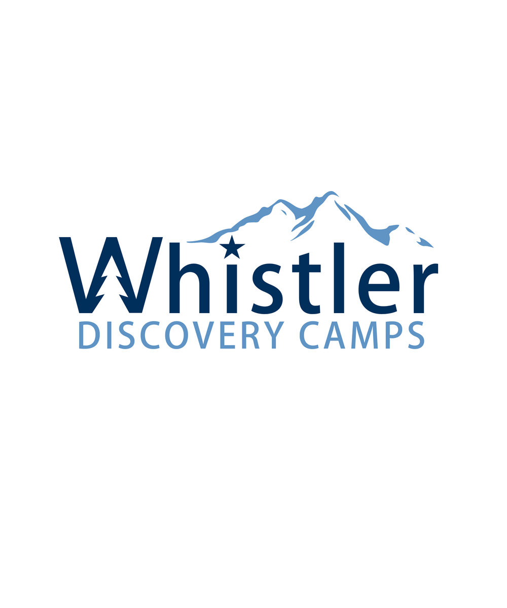Logo Design by Private User - Entry No. 113 in the Logo Design Contest Captivating Logo Design for Whistler Discovery Camps.