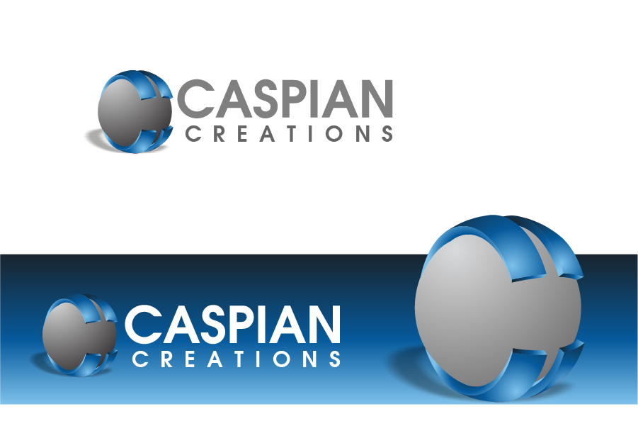 Logo Design by Private User - Entry No. 20 in the Logo Design Contest Creative Logo Design for Caspian Creations.