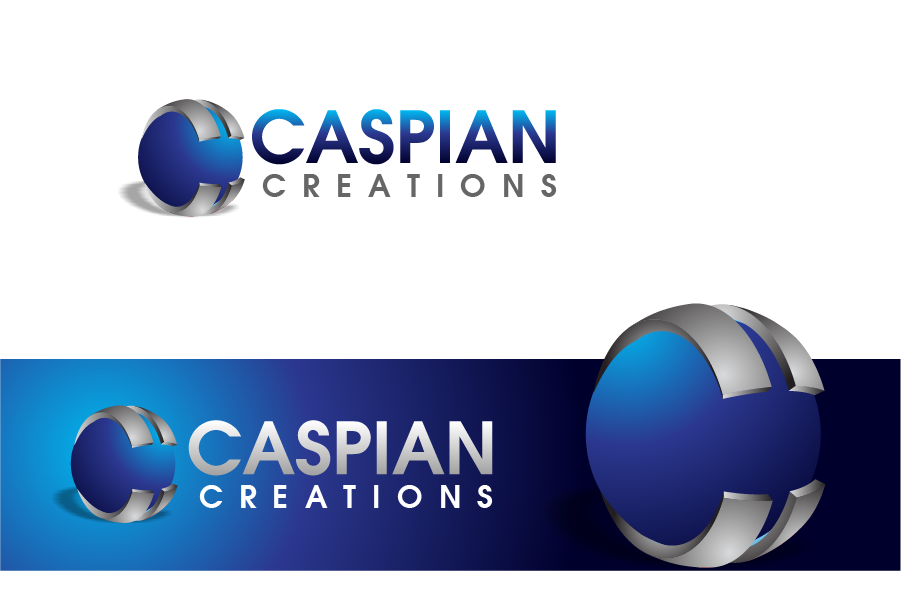 Logo Design by Private User - Entry No. 22 in the Logo Design Contest Creative Logo Design for Caspian Creations.