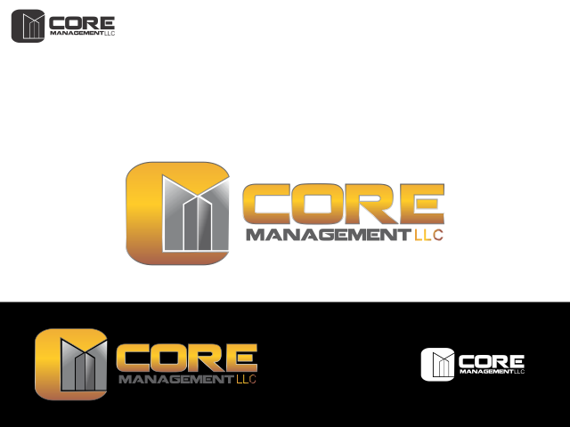 Logo Design by Rizwan Saeed - Entry No. 154 in the Logo Design Contest Creative Logo Design for CORE Management, LLC.