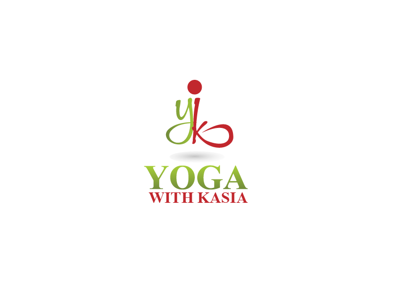 Logo Design by Private User - Entry No. 43 in the Logo Design Contest Artistic Logo Design for Yoga with Kasia.