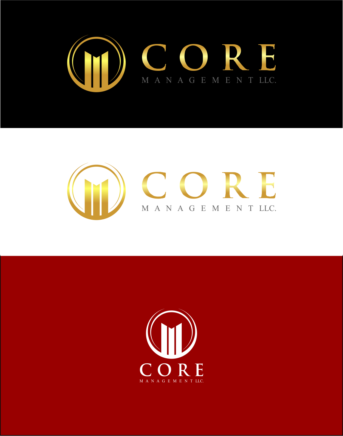 Logo Design by Agus Martoyo - Entry No. 159 in the Logo Design Contest Creative Logo Design for CORE Management, LLC.