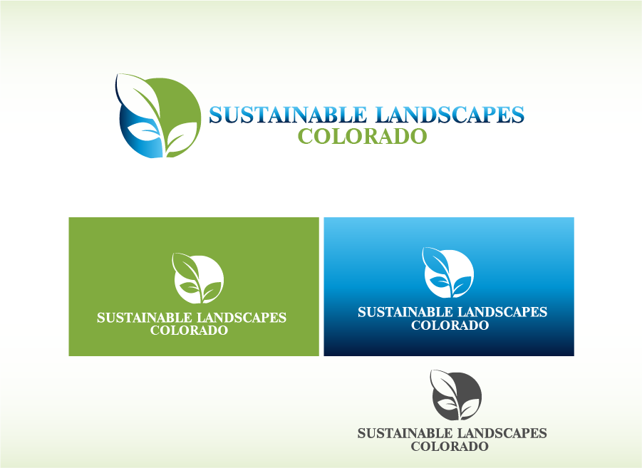 Logo Design by Private User - Entry No. 6 in the Logo Design Contest Imaginative Logo Design for Sustainable Landscapes - Colorado.