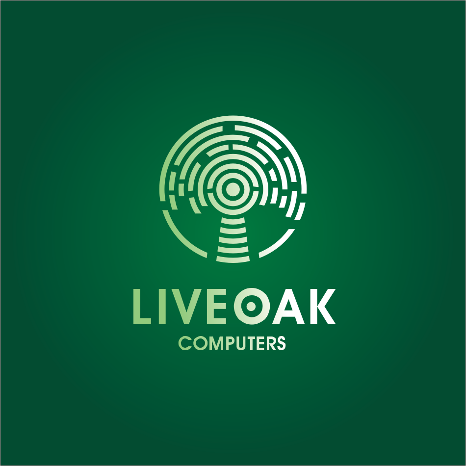 Logo Design by montoshlall - Entry No. 14 in the Logo Design Contest Live Oak Computers.