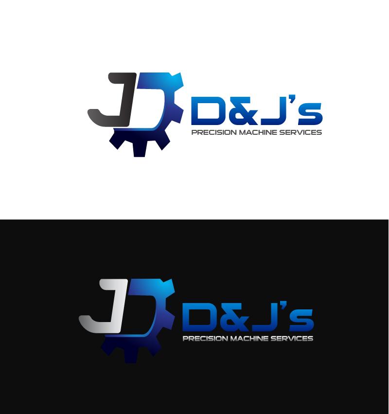 Logo Design by Private User - Entry No. 102 in the Logo Design Contest Creative Logo Design for D & J's Precision Machine Services.