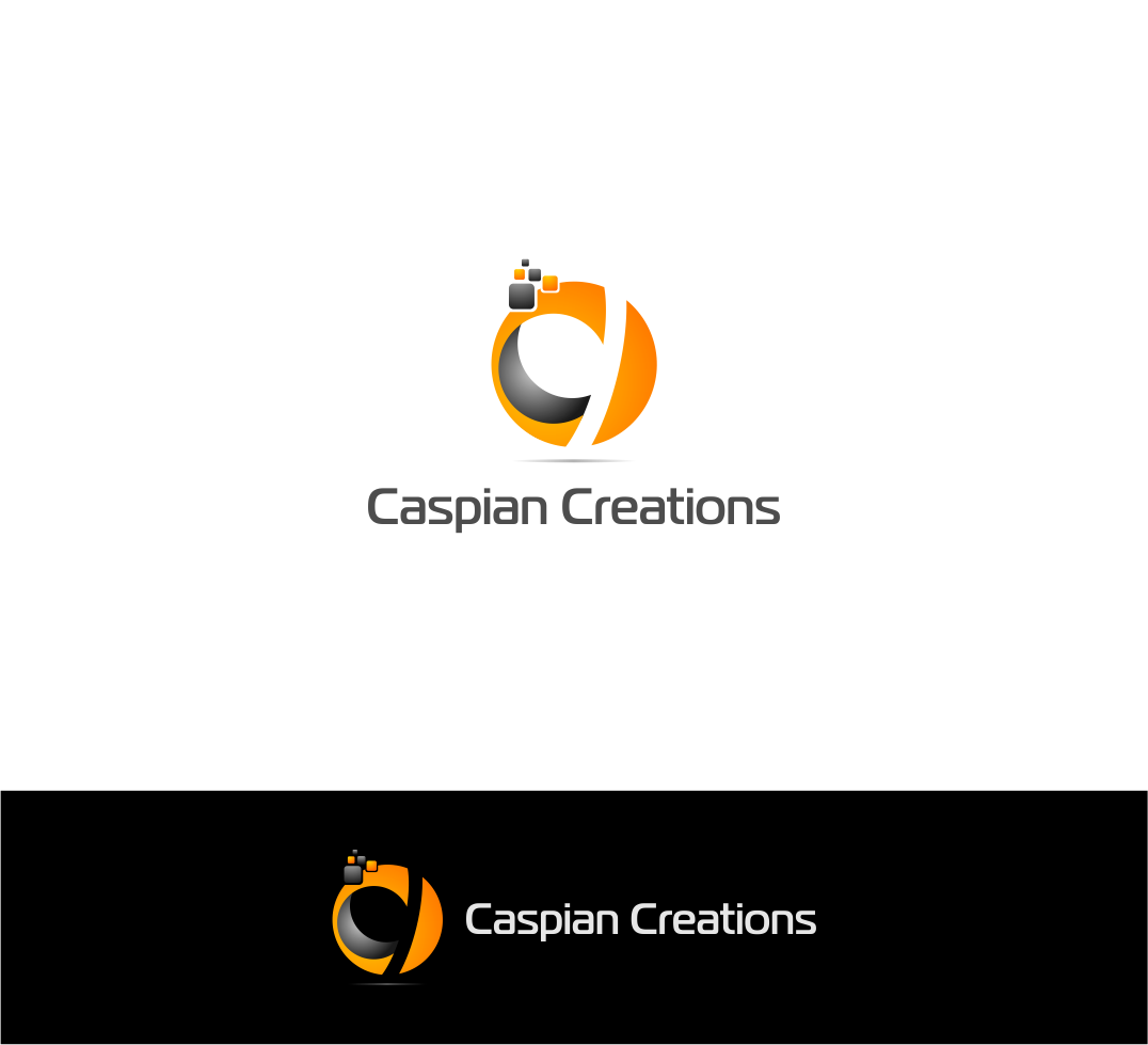 Logo Design by haidu - Entry No. 25 in the Logo Design Contest Creative Logo Design for Caspian Creations.