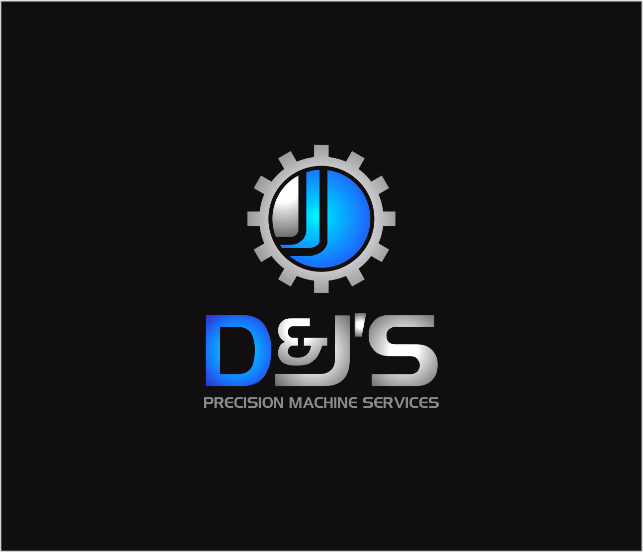 Logo Design by Armada Jamaluddin - Entry No. 107 in the Logo Design Contest Creative Logo Design for D & J's Precision Machine Services.