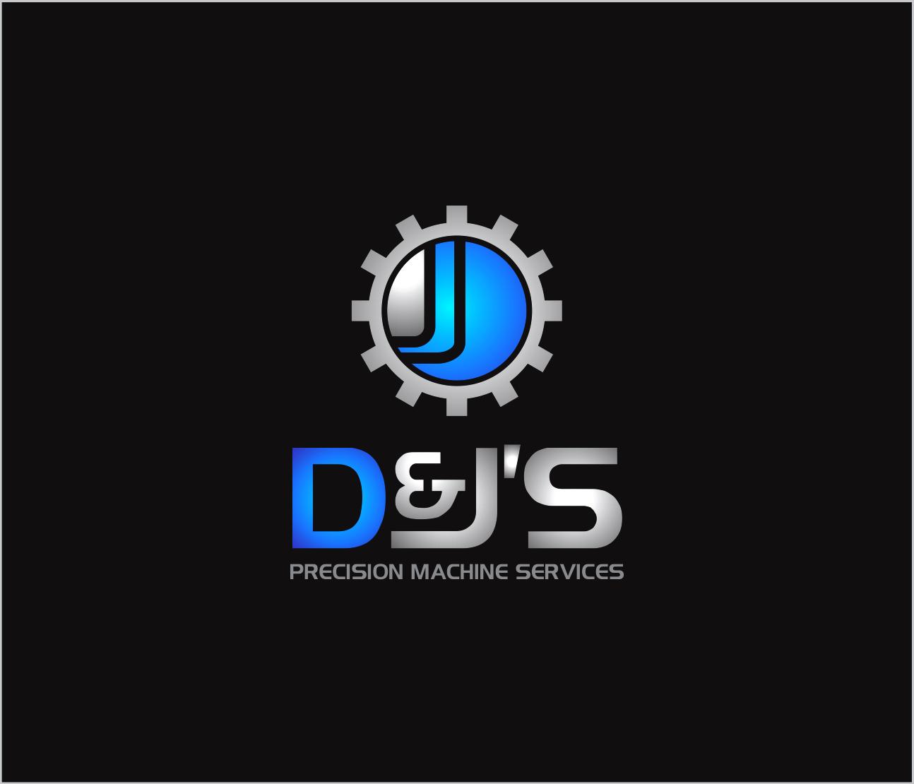 Logo Design by Armada Jamaluddin - Entry No. 107 in the Logo Design Contest Creative Logo Design for D & J's Precision Machine Services.