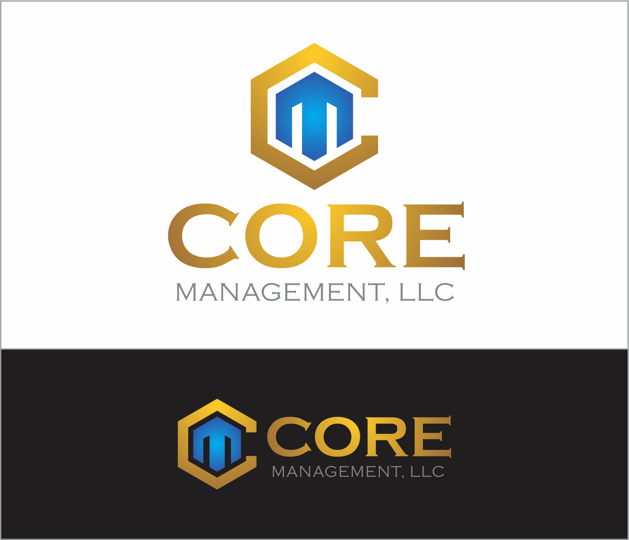 Logo Design by Armada Jamaluddin - Entry No. 165 in the Logo Design Contest Creative Logo Design for CORE Management, LLC.