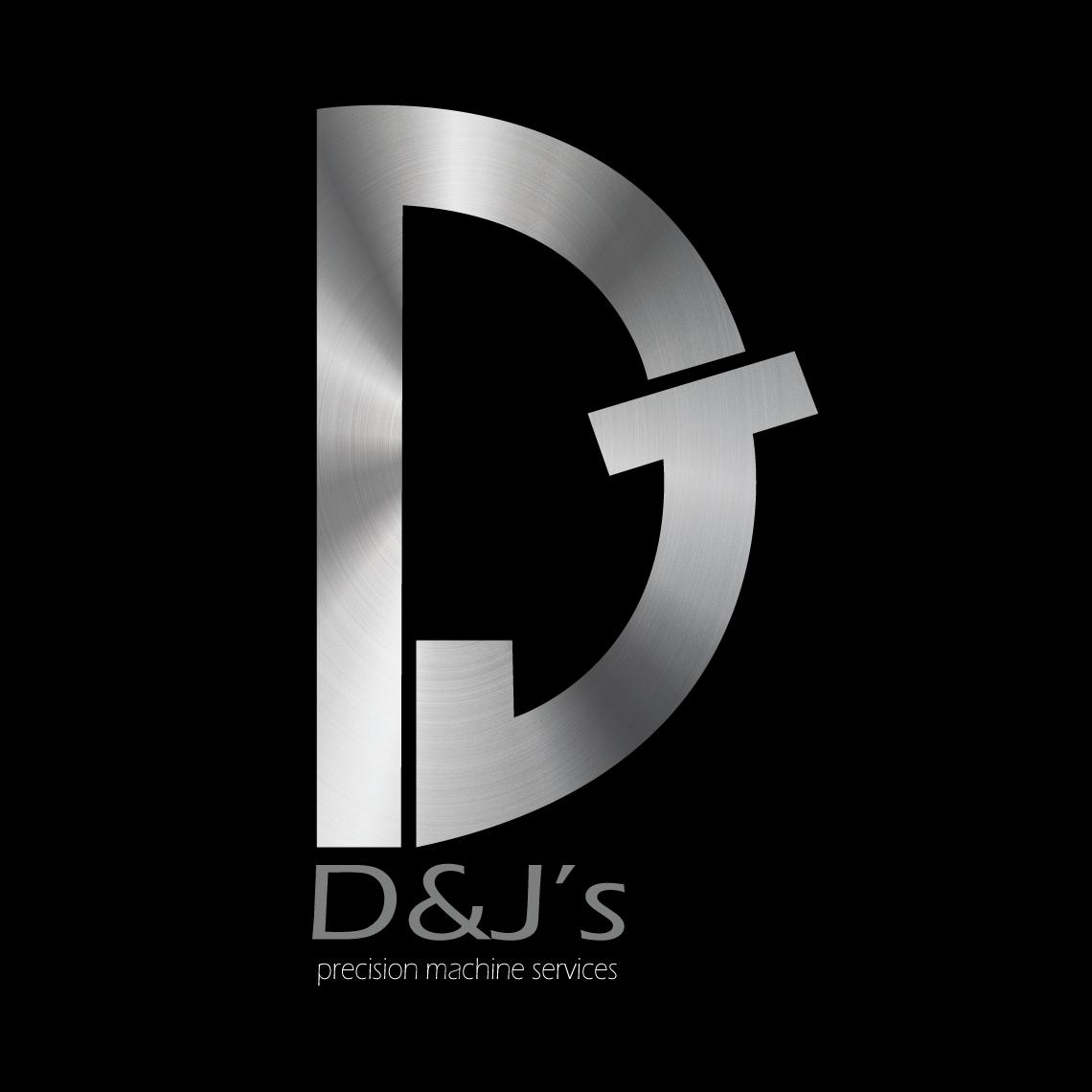 Logo Design by Safal Adam - Entry No. 110 in the Logo Design Contest Creative Logo Design for D & J's Precision Machine Services.