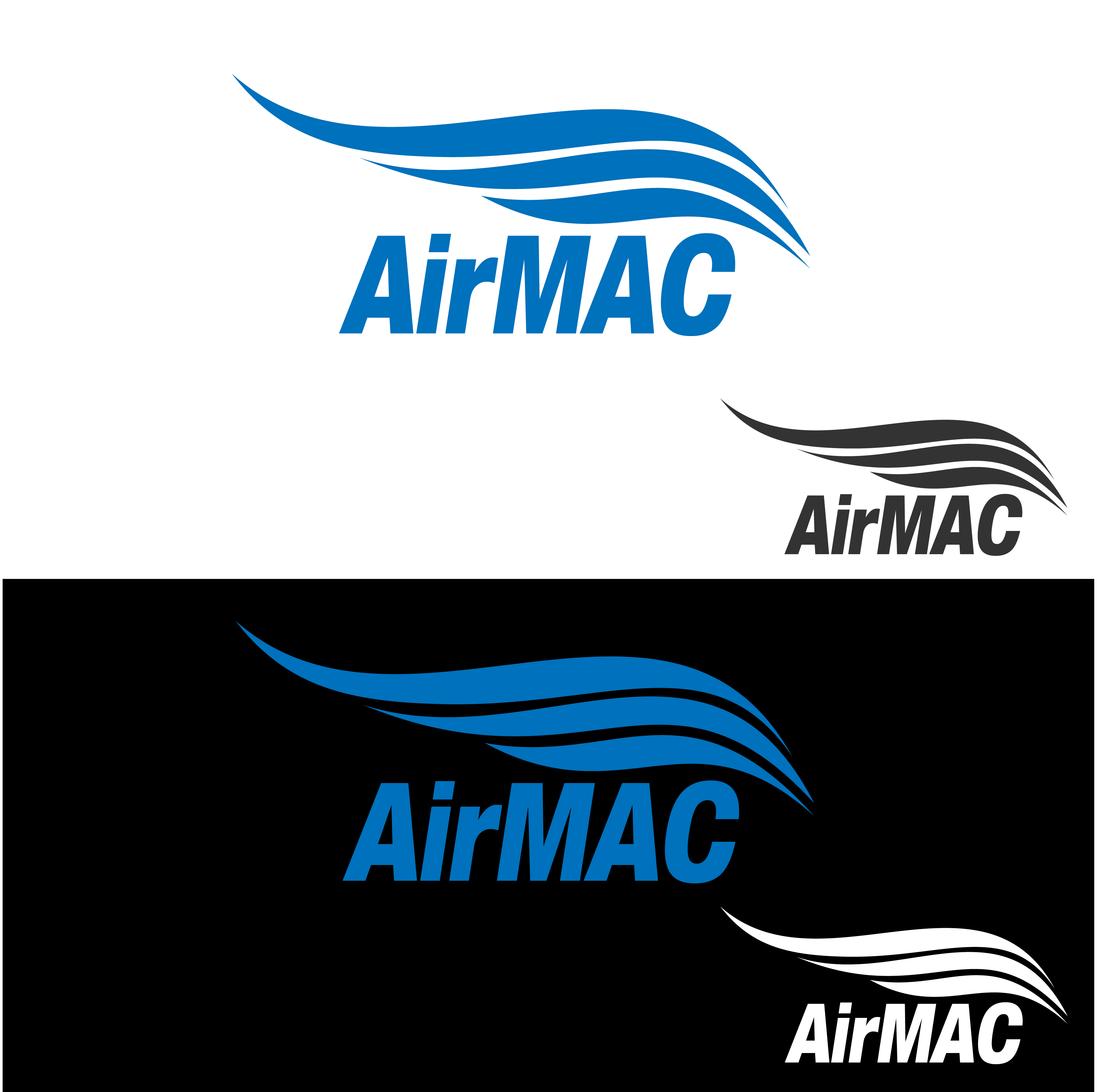 Logo Design by Private User - Entry No. 8 in the Logo Design Contest Unique Logo Design Wanted for Air Mac.
