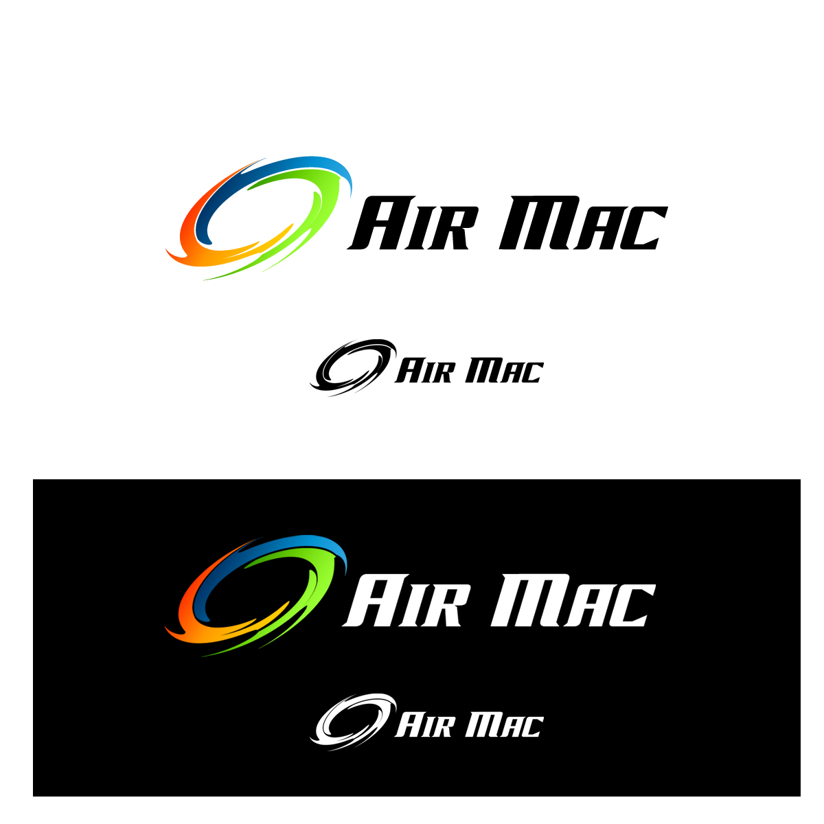 Logo Design by pixdesign - Entry No. 9 in the Logo Design Contest Unique Logo Design Wanted for Air Mac.