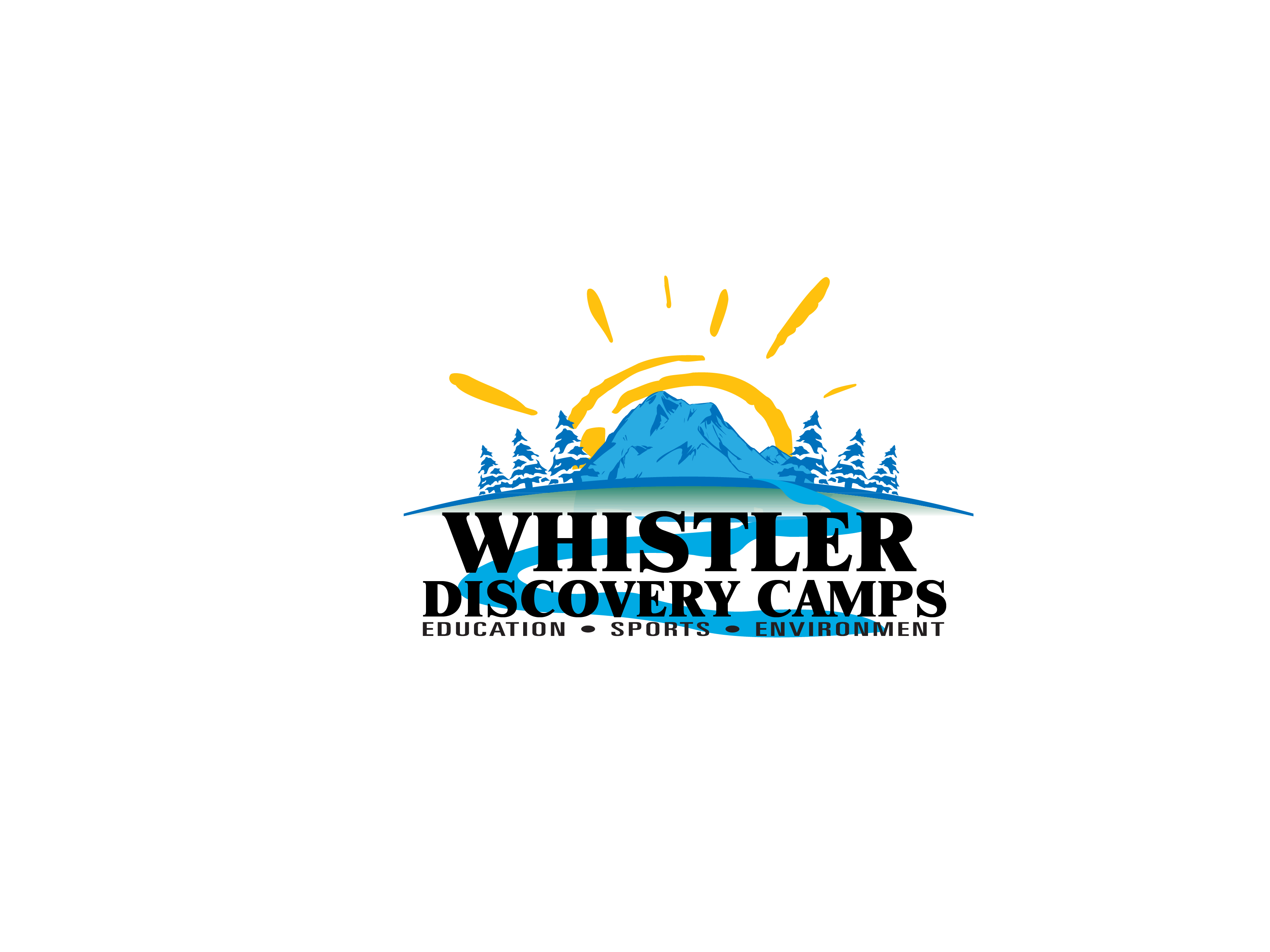 Logo Design by brands_in - Entry No. 126 in the Logo Design Contest Captivating Logo Design for Whistler Discovery Camps.