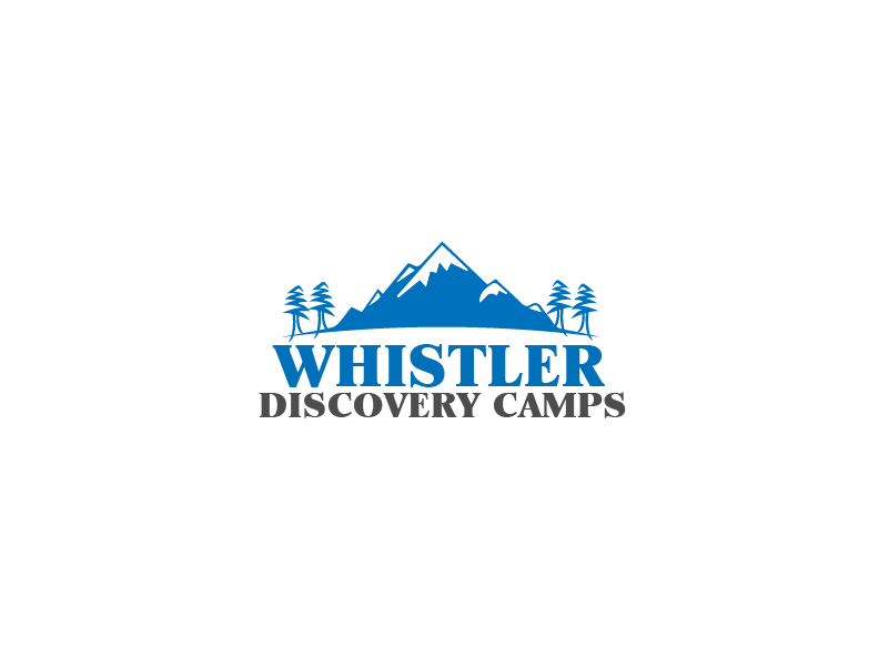 Logo Design by brands_in - Entry No. 127 in the Logo Design Contest Captivating Logo Design for Whistler Discovery Camps.