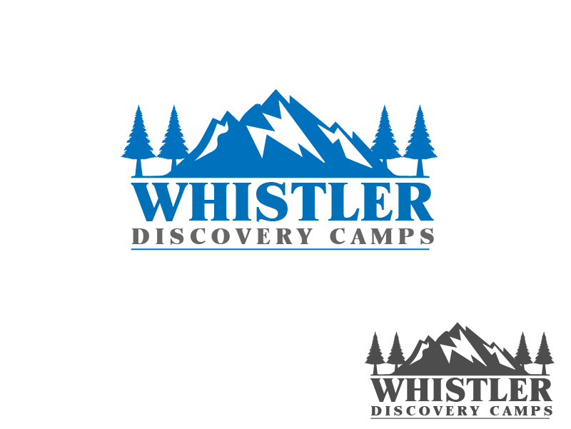 Logo Design by brands_in - Entry No. 128 in the Logo Design Contest Captivating Logo Design for Whistler Discovery Camps.