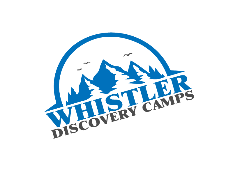Logo Design by Private User - Entry No. 129 in the Logo Design Contest Captivating Logo Design for Whistler Discovery Camps.