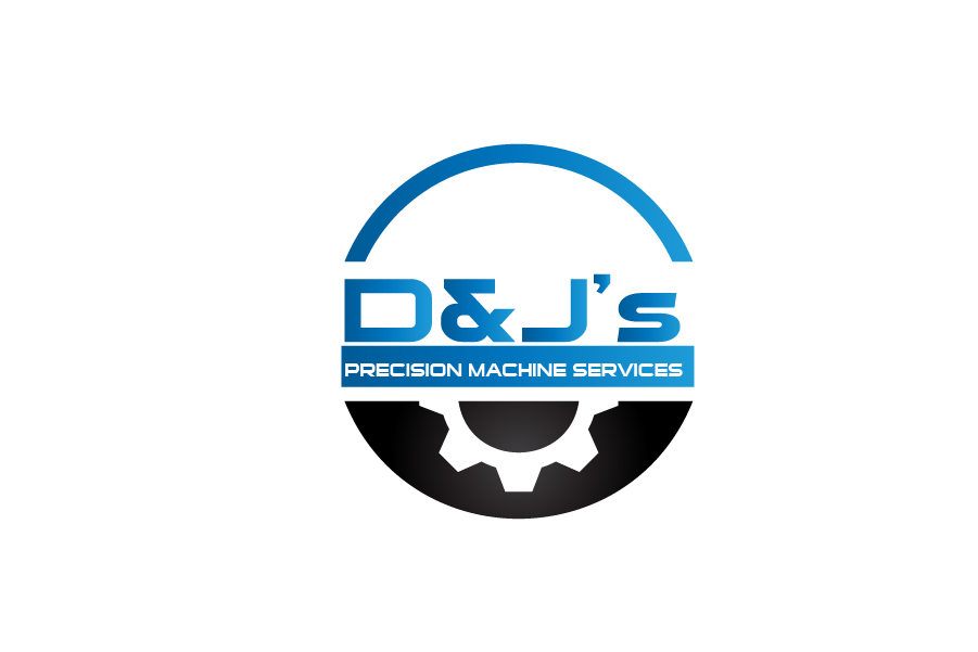 Logo Design by Private User - Entry No. 118 in the Logo Design Contest Creative Logo Design for D & J's Precision Machine Services.