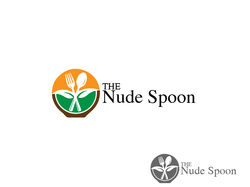 Logo Design by brands_in - Entry No. 17 in the Logo Design Contest Captivating Logo Design for The Nude Spoon.