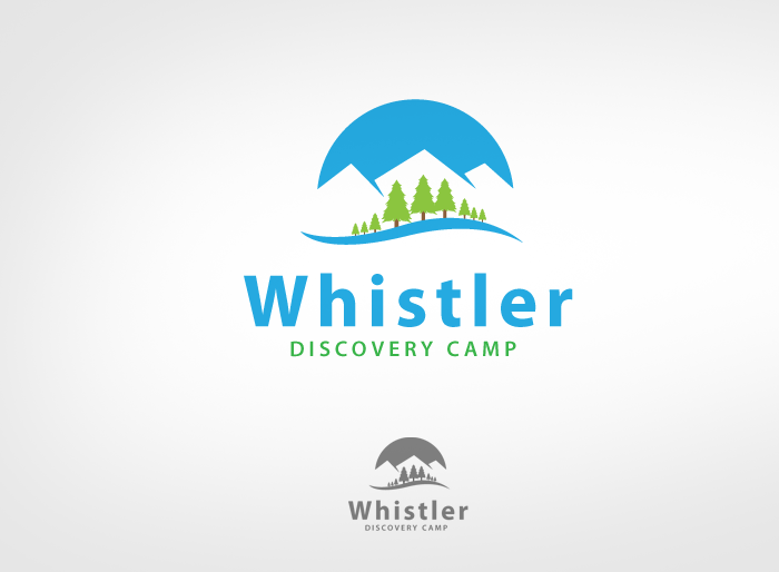 Logo Design by Jan Chua - Entry No. 130 in the Logo Design Contest Captivating Logo Design for Whistler Discovery Camps.