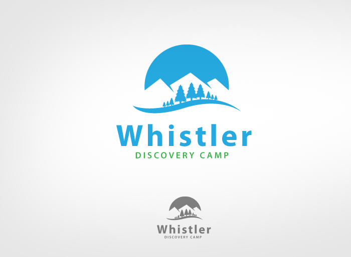 Logo Design by Jan Chua - Entry No. 131 in the Logo Design Contest Captivating Logo Design for Whistler Discovery Camps.