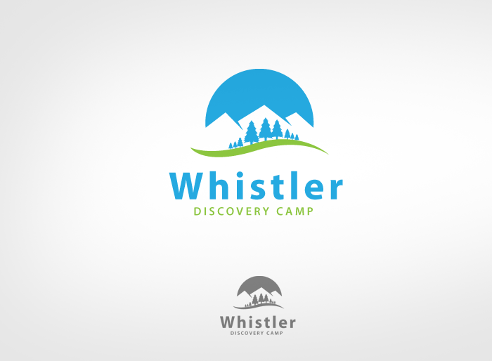 Logo Design by Jan Chua - Entry No. 132 in the Logo Design Contest Captivating Logo Design for Whistler Discovery Camps.