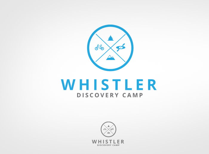 Logo Design by Jan Chua - Entry No. 133 in the Logo Design Contest Captivating Logo Design for Whistler Discovery Camps.