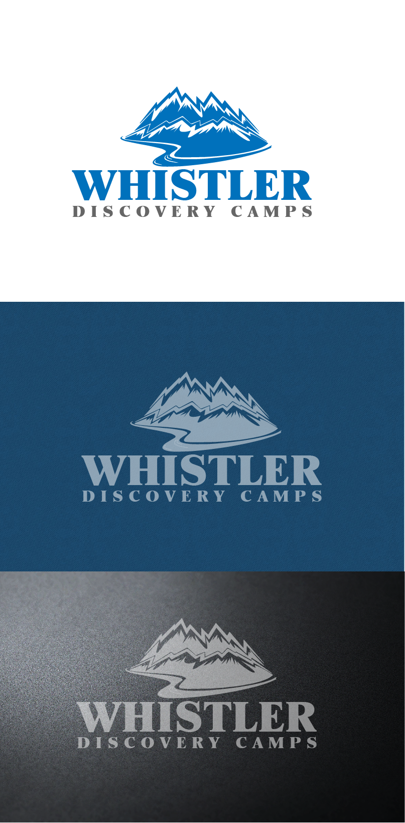 Logo Design by brands_in - Entry No. 137 in the Logo Design Contest Captivating Logo Design for Whistler Discovery Camps.