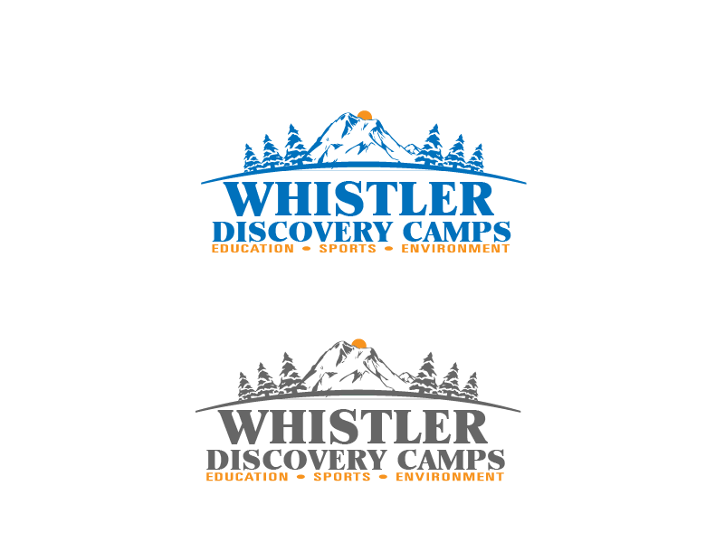 Logo Design by brands_in - Entry No. 138 in the Logo Design Contest Captivating Logo Design for Whistler Discovery Camps.