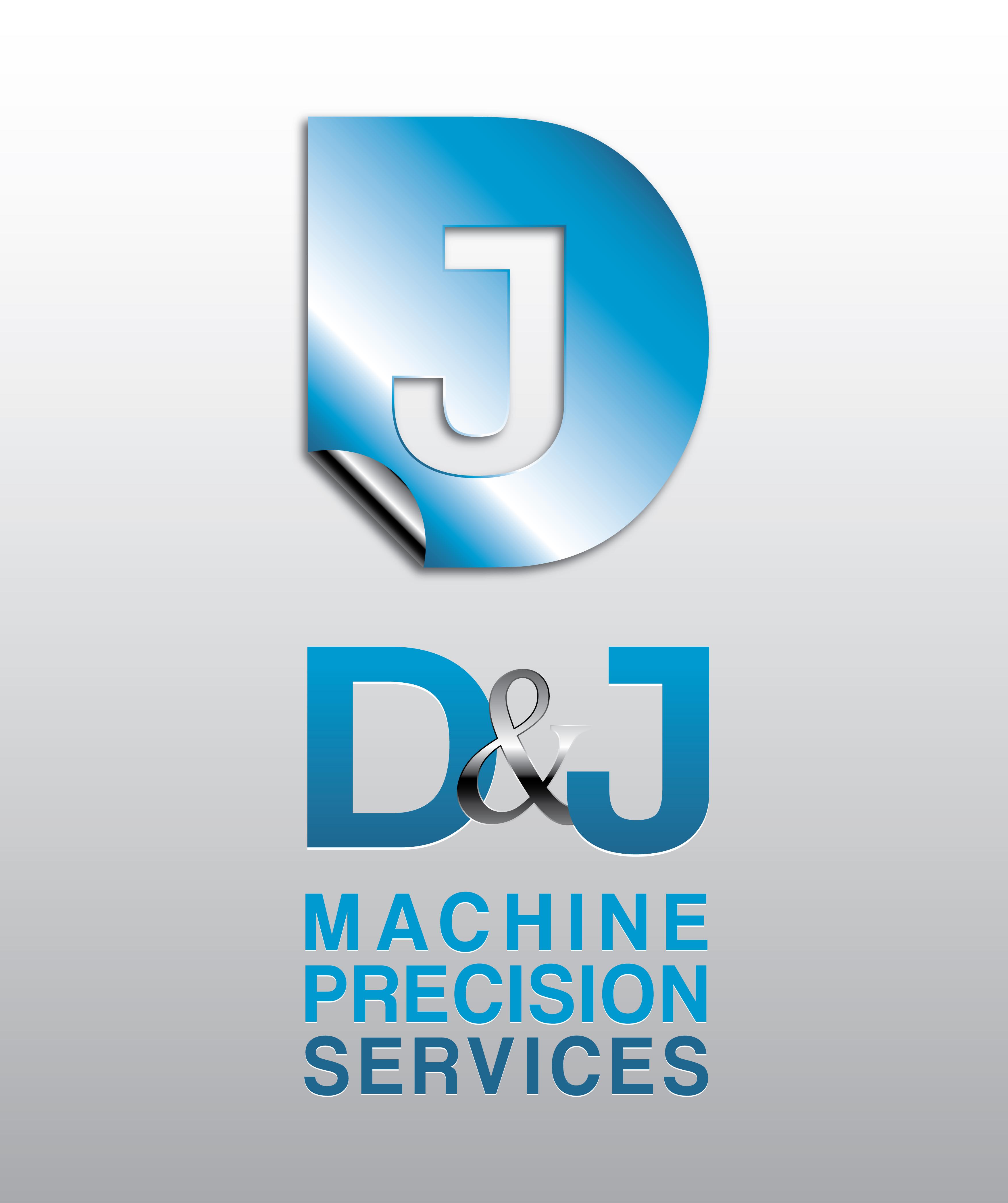 Logo Design by Private User - Entry No. 131 in the Logo Design Contest Creative Logo Design for D & J's Precision Machine Services.