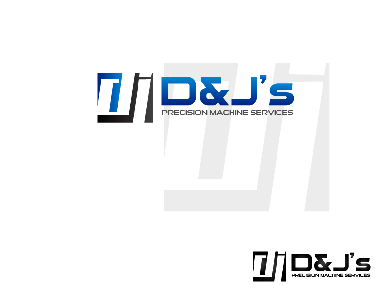 Logo Design by brands_in - Entry No. 132 in the Logo Design Contest Creative Logo Design for D & J's Precision Machine Services.