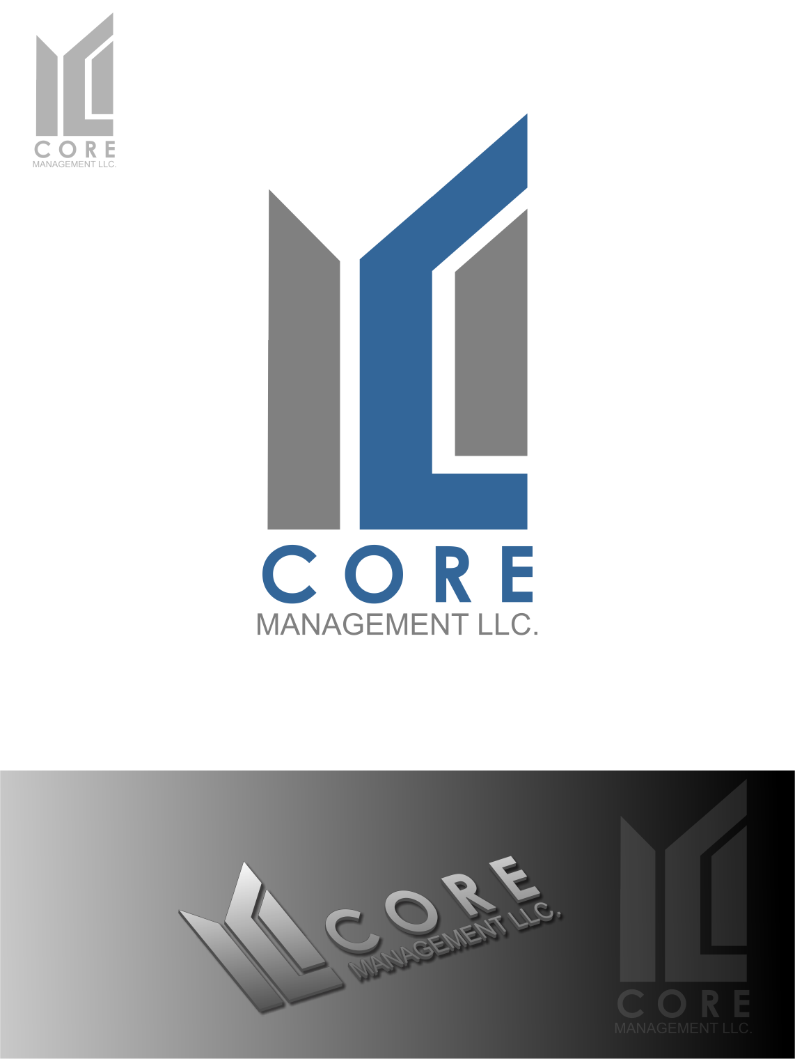 Logo Design by Agus Martoyo - Entry No. 188 in the Logo Design Contest Creative Logo Design for CORE Management, LLC.