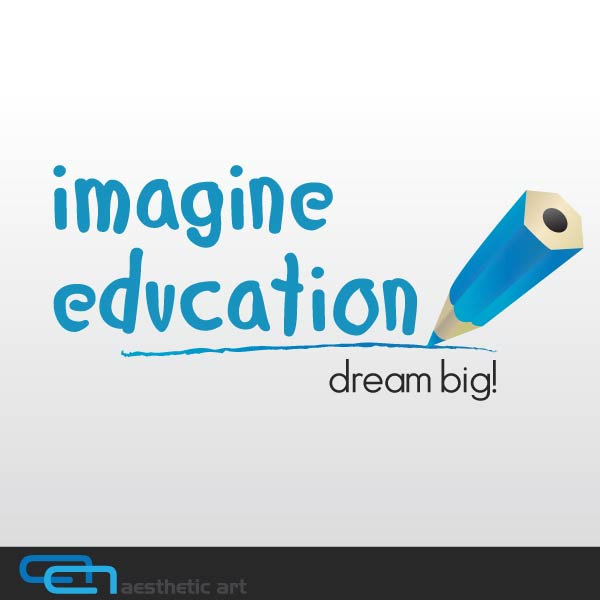 Logo Design by aesthetic-art - Entry No. 100 in the Logo Design Contest Imagine Education.