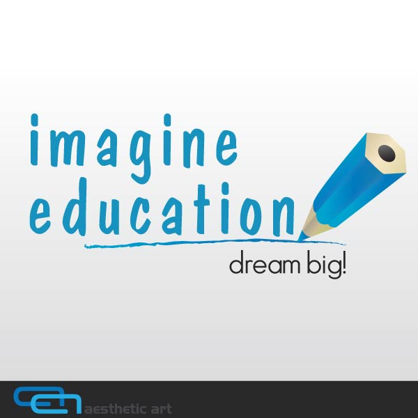 Logo Design by aesthetic-art - Entry No. 101 in the Logo Design Contest Imagine Education.