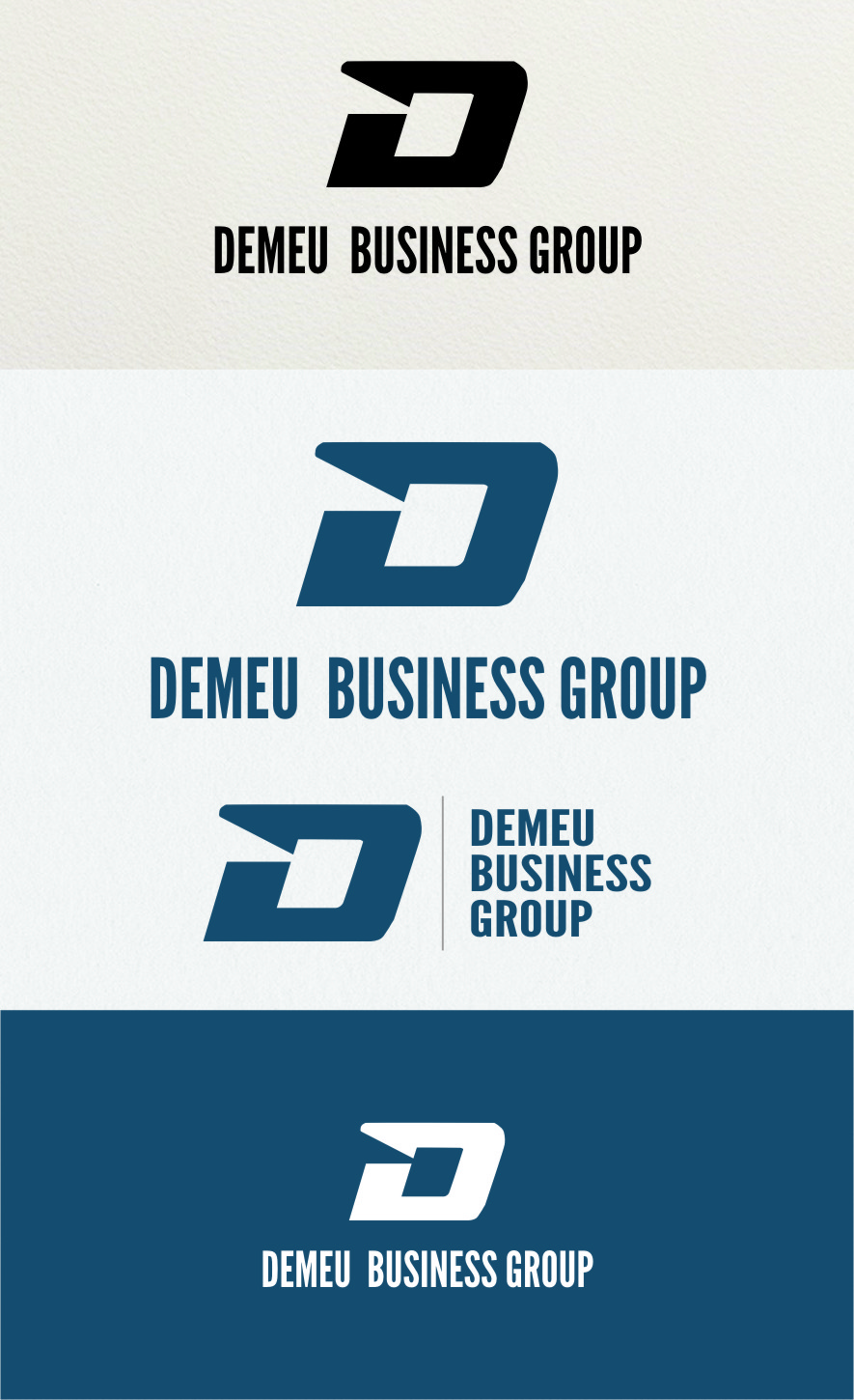 Logo Design by Ngepet_art - Entry No. 144 in the Logo Design Contest Captivating Logo Design for DEMEU Business Group.