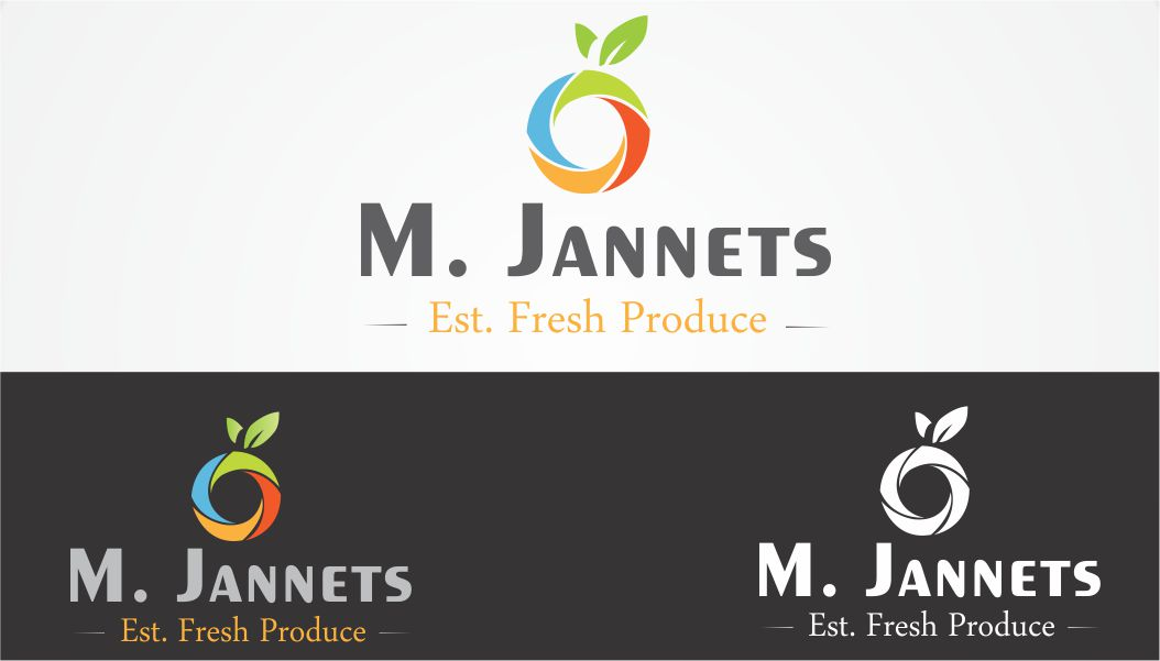 Logo Design by Vallabh Vinerkar - Entry No. 7 in the Logo Design Contest Inspiring Logo Design for M. Jannets.
