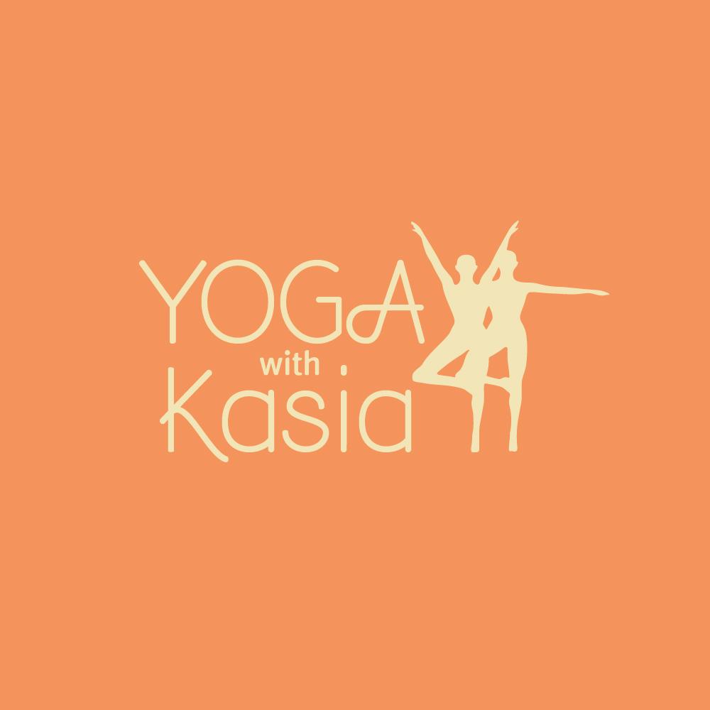 Logo Design by danelav - Entry No. 51 in the Logo Design Contest Artistic Logo Design for Yoga with Kasia.
