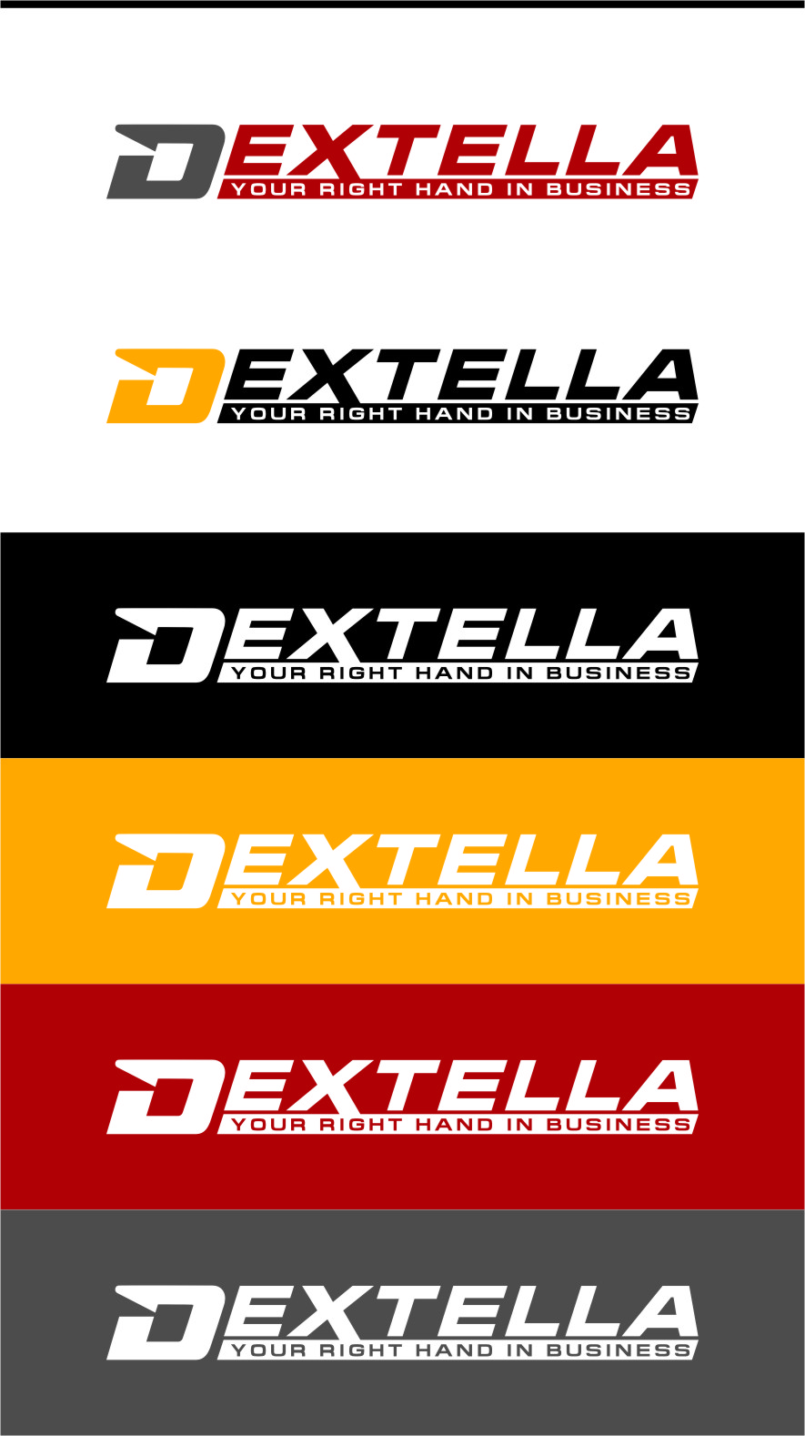Logo Design by Ngepet_art - Entry No. 28 in the Logo Design Contest Unique Logo Design Wanted for Dextella s.r.o..