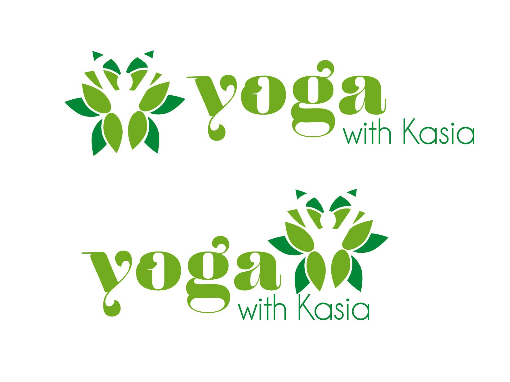 Logo Design by VENTSISLAV KOVACHEV - Entry No. 54 in the Logo Design Contest Artistic Logo Design for Yoga with Kasia.
