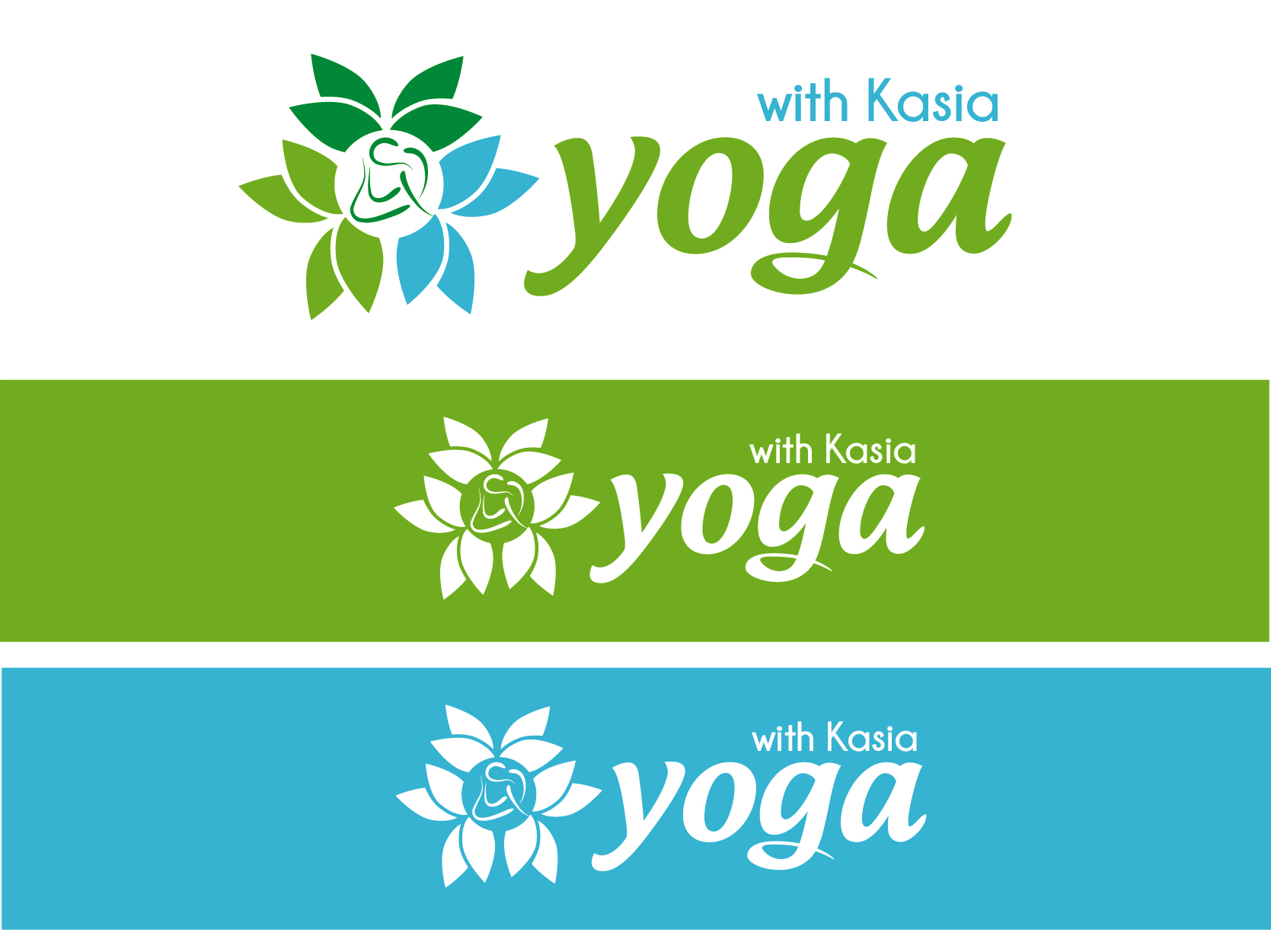 Logo Design by VENTSISLAV KOVACHEV - Entry No. 56 in the Logo Design Contest Artistic Logo Design for Yoga with Kasia.