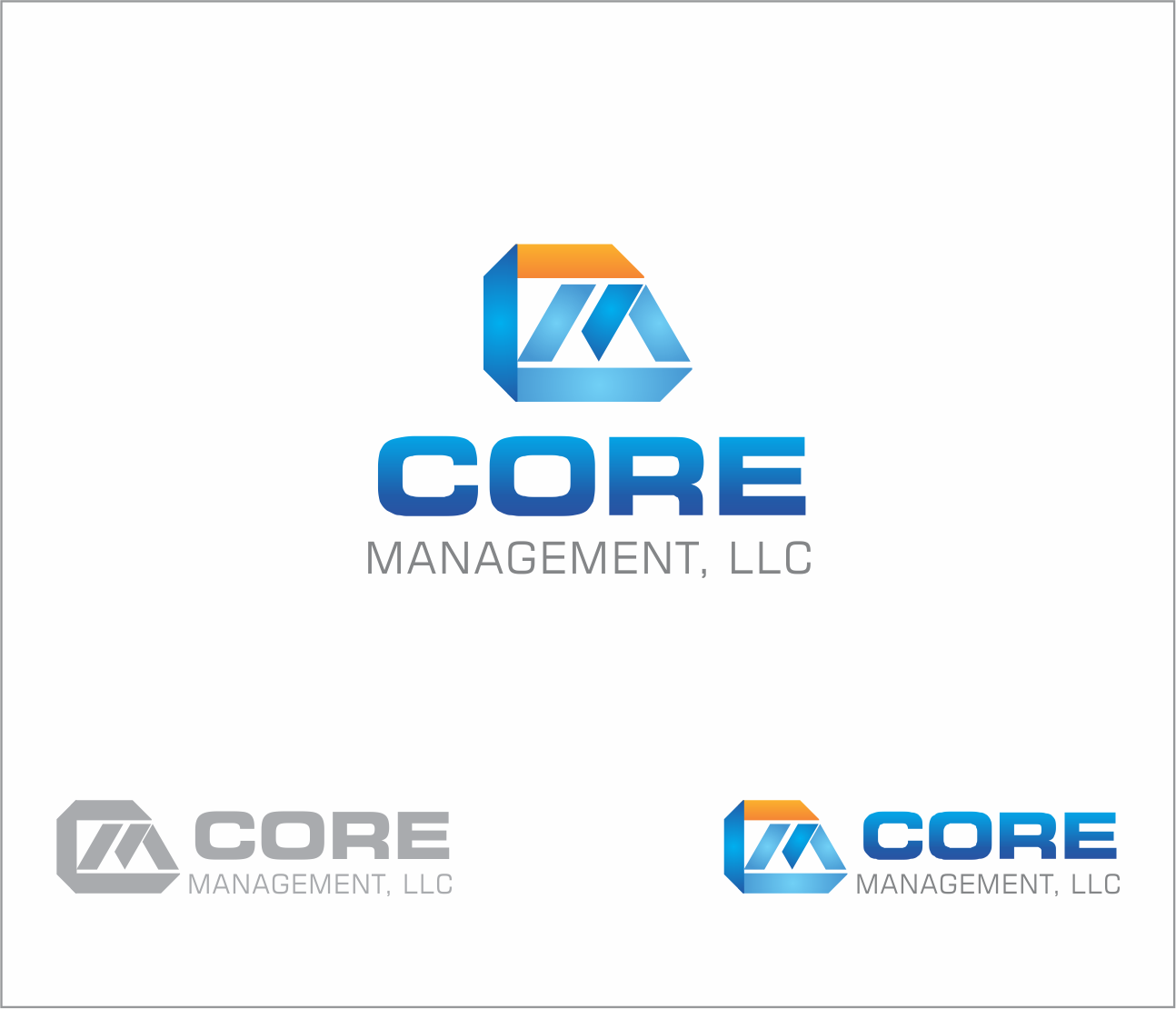 Logo Design by Armada Jamaluddin - Entry No. 204 in the Logo Design Contest Creative Logo Design for CORE Management, LLC.
