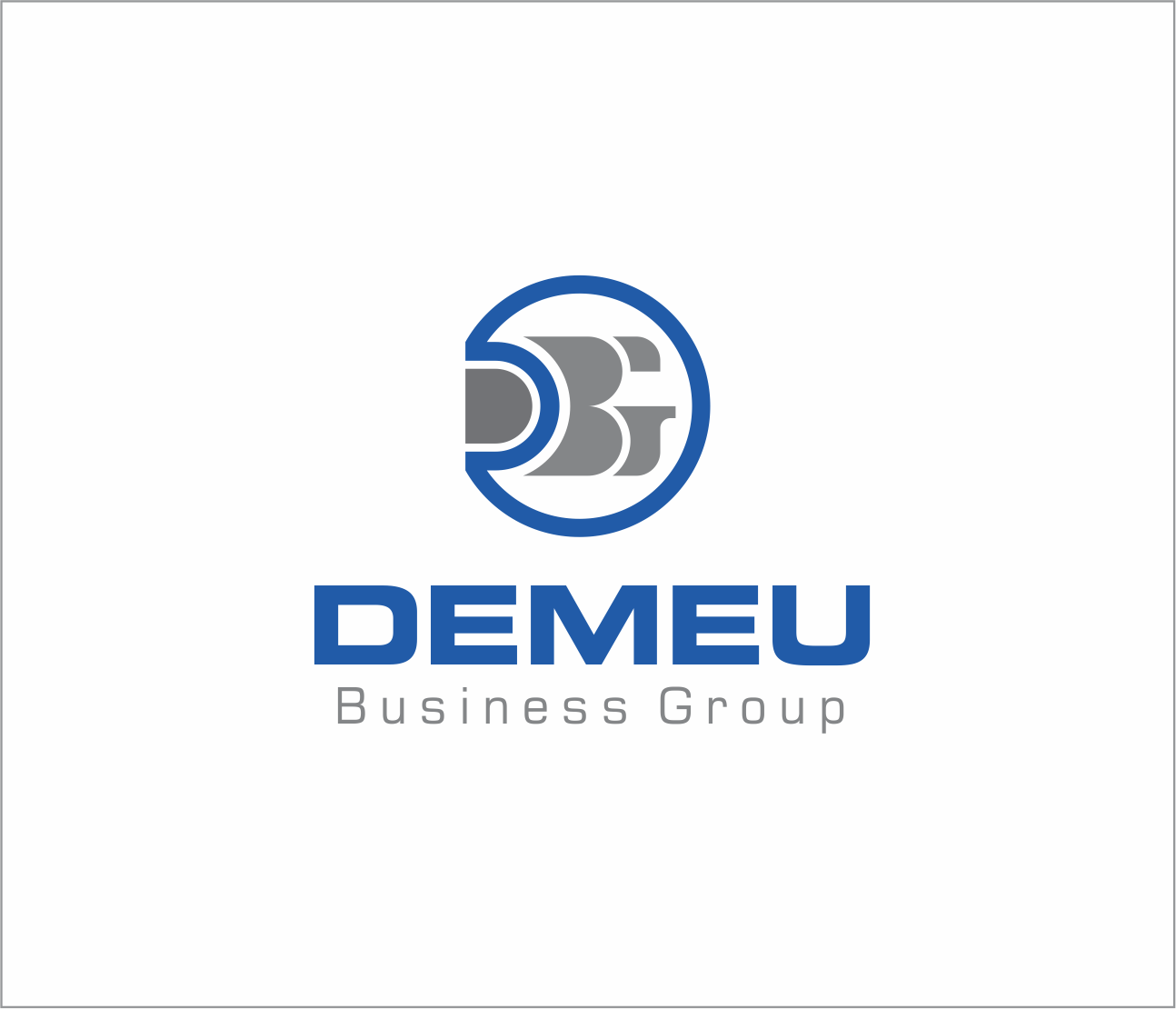 Logo Design by Armada Jamaluddin - Entry No. 145 in the Logo Design Contest Captivating Logo Design for DEMEU Business Group.