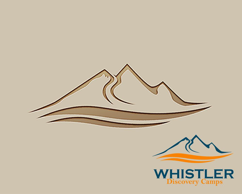 Logo Design by Juan Luna - Entry No. 143 in the Logo Design Contest Captivating Logo Design for Whistler Discovery Camps.