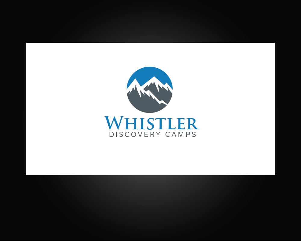 Logo Design by roc - Entry No. 145 in the Logo Design Contest Captivating Logo Design for Whistler Discovery Camps.