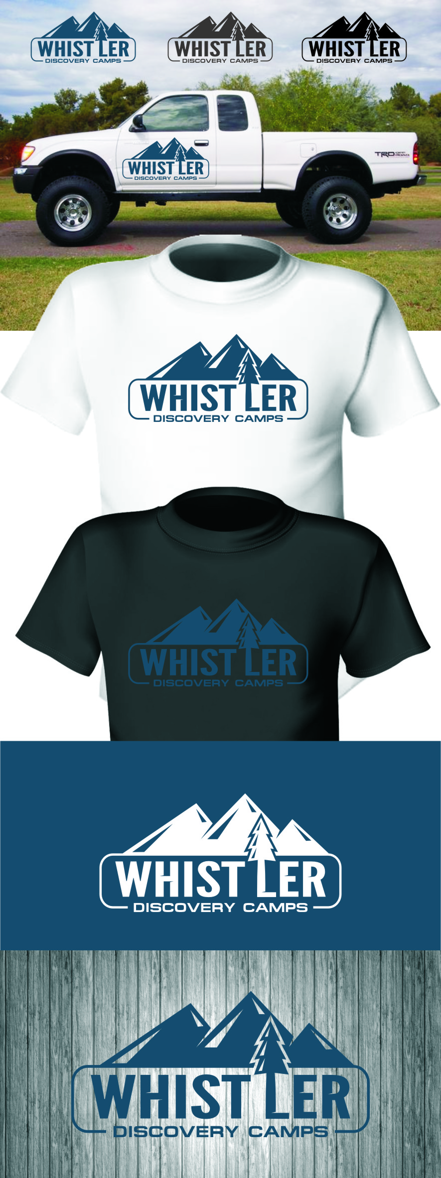 Logo Design by Ngepet_art - Entry No. 148 in the Logo Design Contest Captivating Logo Design for Whistler Discovery Camps.