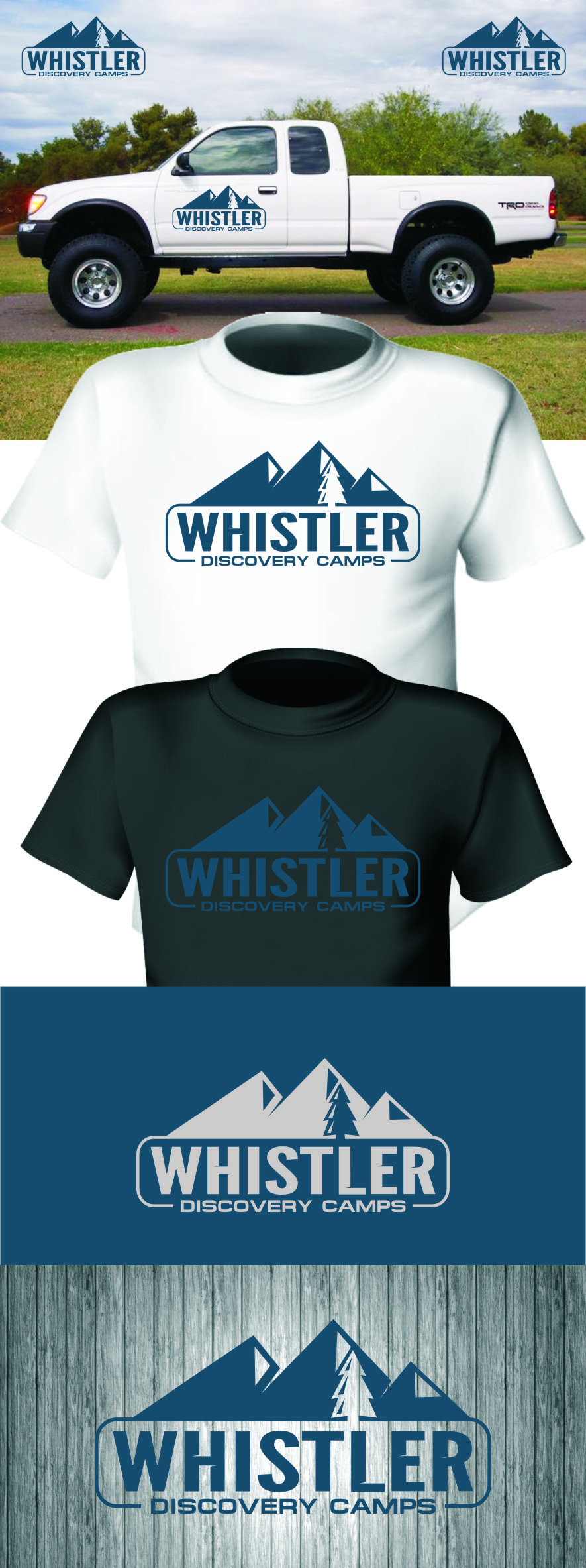 Logo Design by Ngepet_art - Entry No. 151 in the Logo Design Contest Captivating Logo Design for Whistler Discovery Camps.
