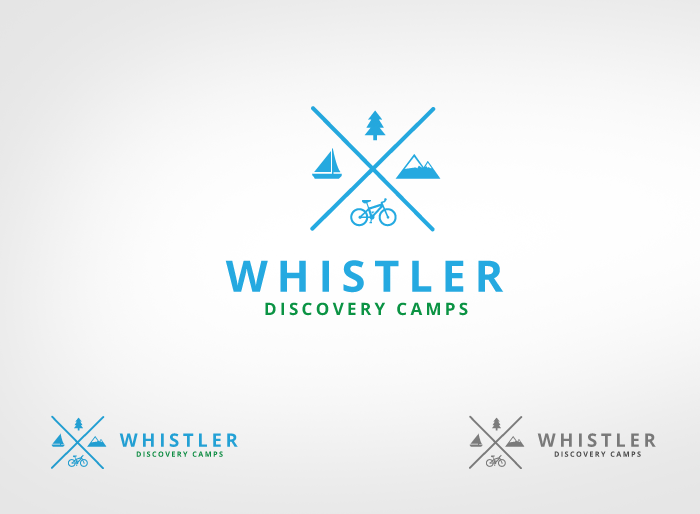 Logo Design by Jan Chua - Entry No. 152 in the Logo Design Contest Captivating Logo Design for Whistler Discovery Camps.