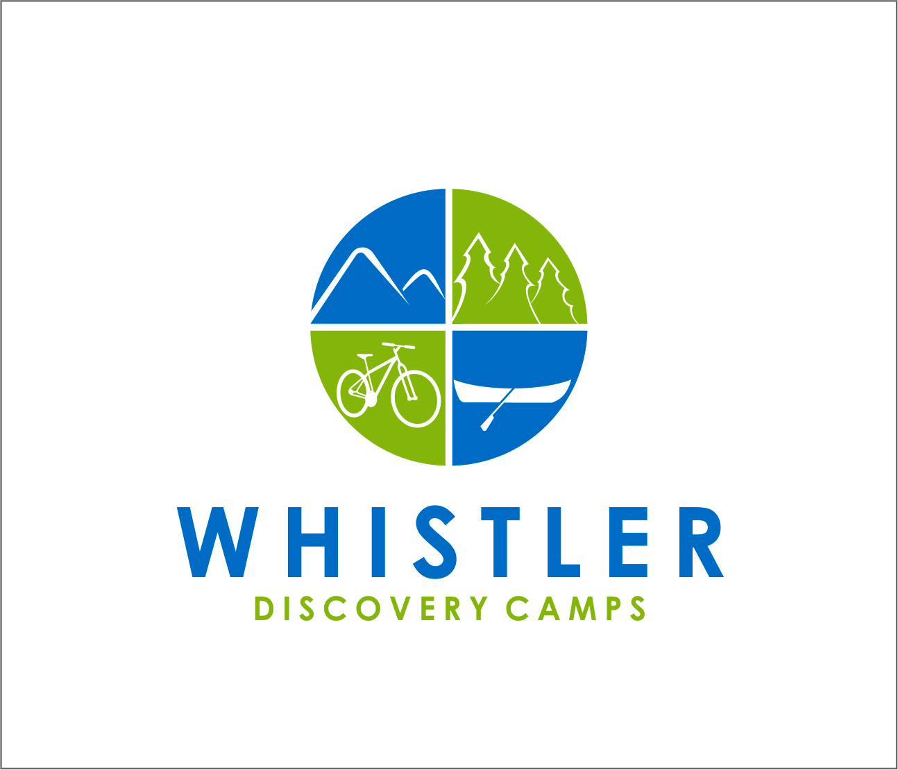 Logo Design by Armada Jamaluddin - Entry No. 154 in the Logo Design Contest Captivating Logo Design for Whistler Discovery Camps.