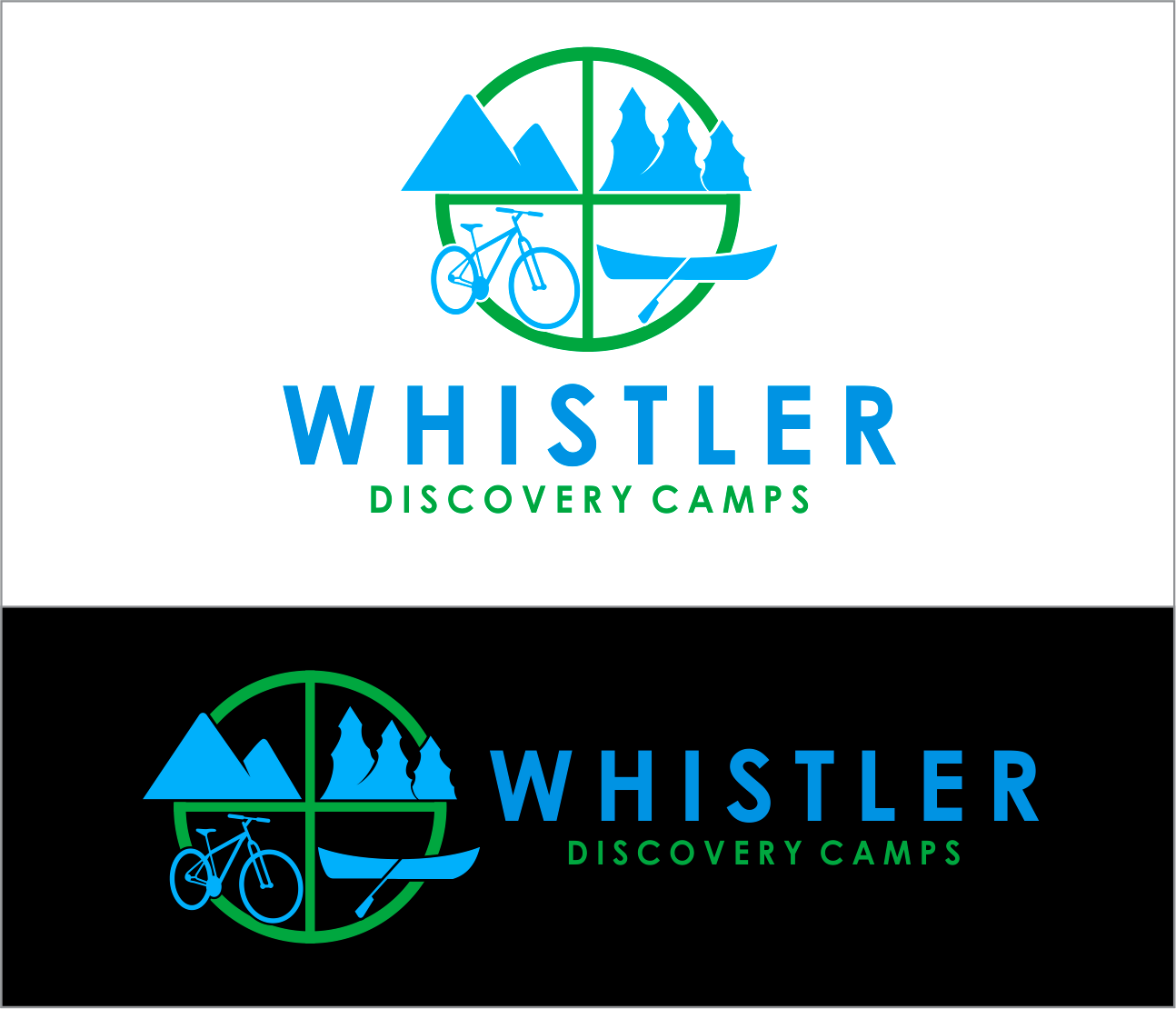Logo Design by Armada Jamaluddin - Entry No. 155 in the Logo Design Contest Captivating Logo Design for Whistler Discovery Camps.