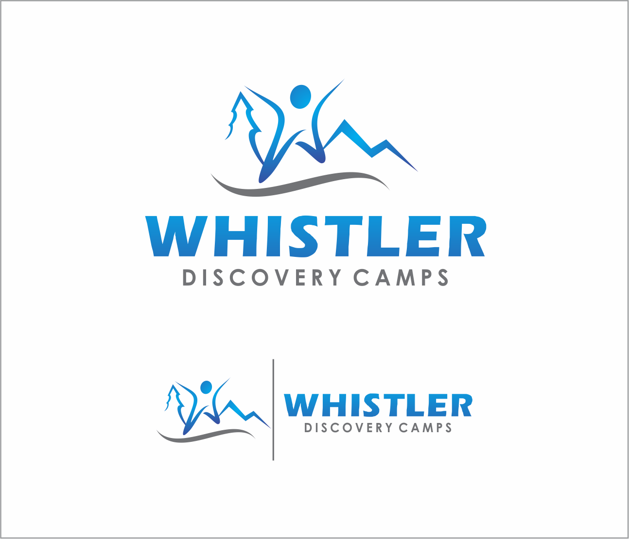 Logo Design by Armada Jamaluddin - Entry No. 158 in the Logo Design Contest Captivating Logo Design for Whistler Discovery Camps.